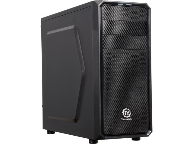 Thermaltake Versa H25 CA-1C2-00M1NN-00 Black SPCC ATX Gaming Mid Tower Computer Case