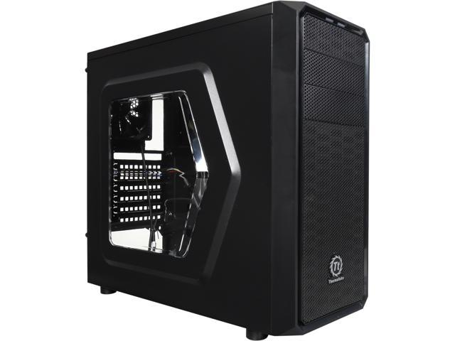 Thermaltake Versa H25 CA-1C2-00M1WN-00 Black w/ Window SPCC ATX Gaming Mid Tower Computer Case