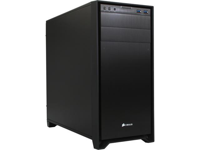Corsair Obsidian Series 350D CC-9011028-WW Black Aluminum / Steel MicroATX Case