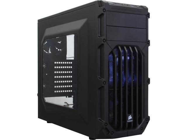 Corsair Carbide Series SPEC-03 Black Steel / Plastic ATX Mid Tower Gaming Case