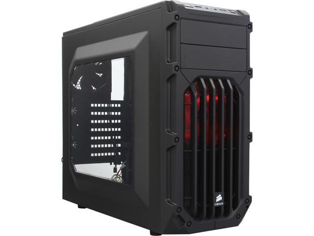 Corsair Carbide Series SPEC-03 Red Steel / Plastic ATX Mid Tower Gaming Case