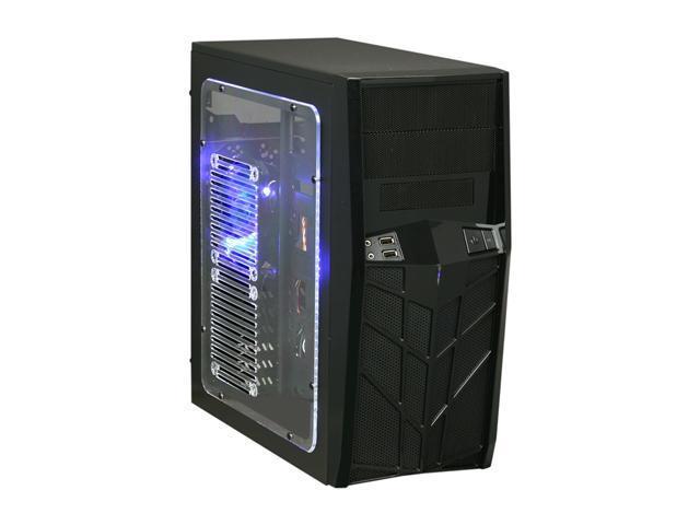 APEVIA X-TROOPER Junior Series X-TRPJR-BK Black Steel Micro ATX Mid Tower Computer Case w/ Side Window