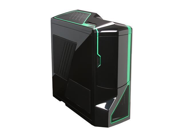 NZXT Crafted Series Phantom Black/Green Steel / Plastic ATX Full Tower Computer Case