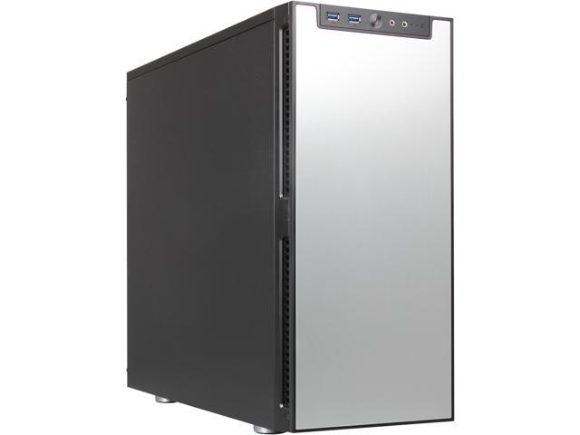 Rosewill Legacy QT01-S - Tri-Fan, Silver Aluminum Alloy ATX Mid Tower Silent Computer Case