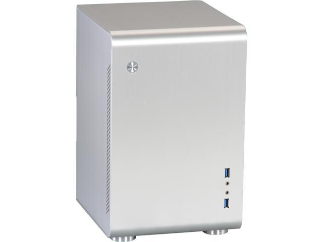 Rosewill Legacy U2-S Silver Aluminum Alloy Mini-ITX Tower Computer Case