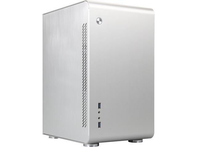 Rosewill Legacy U3-S Silver Aluminum Alloy MicroATX Mini Tower Computer Case