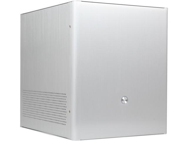 Rosewill Legacy V4-S Silver Aluminum Alloy MicroATX Mini Cube Computer Case