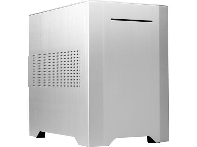 Rosewill Legacy W1-S - Silver, Dual-Fan, Aluminum & Steel Mini-ITX Tower Computer Case