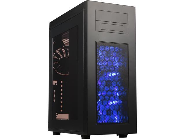 Rosewill Rise Glow - ATX Full Tower Gaming Computer Case - Supports Up to E-ATX MBs, Dual PSUs, and 7 Fans