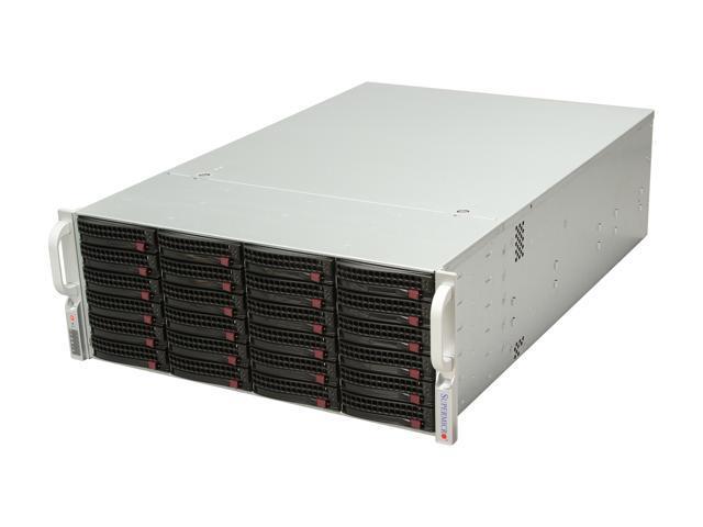 SUPERMICRO SuperChassis CSE-846TQ-R900B Black 4U Rackmount Server Case