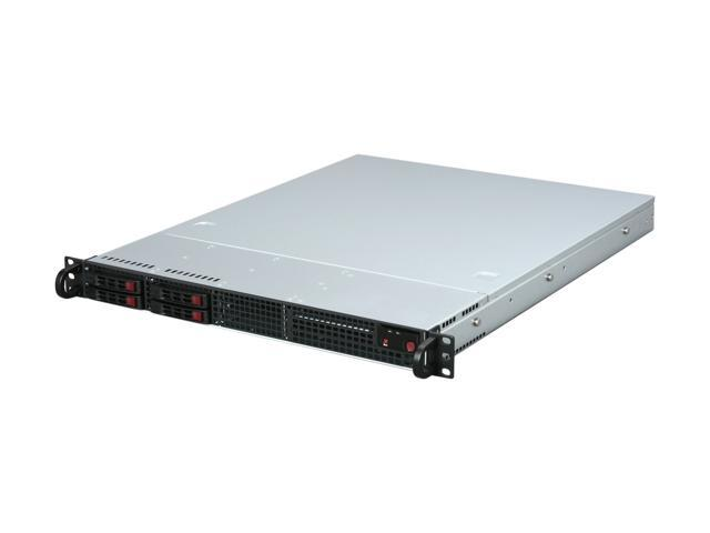 SUPERMICRO CSE-111LT-330CB Black 1U Rackmount Server Chassis