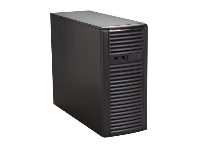 SUPERMICRO CSE-732i-500B Black Mid-tower Server Chassis 500W power supply w/ PFC, 80 PLUS Bronze 2 External 5.25