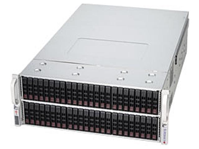 SUPERMICRO CSE-417E16-RJBOD1 Black 4U Rackmount Server Case 1400W Redundant w/ 80 PLUS Gold Certified