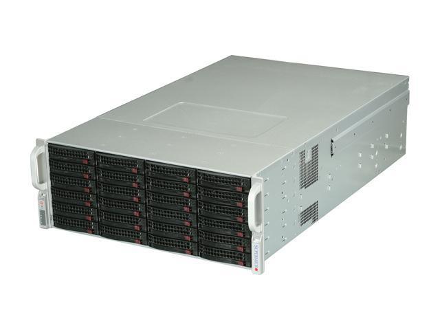 SUPERMICRO CSE-847E26-R1400LPB Black 4U Rackmount Server Case 1400W