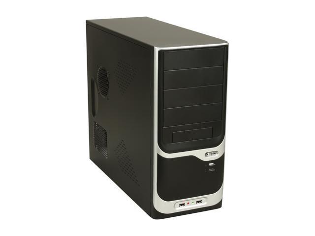 APEX PC-375 Black Steel ATX Mid Tower Computer Case ATX12V 300W Power Supply