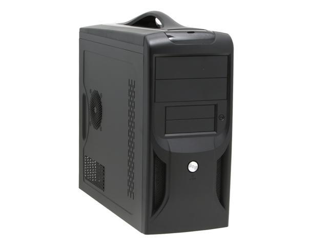 APEX TX-381 Black Steel MicroATX Mid Tower Computer Case ATX12V 300W Power Supply