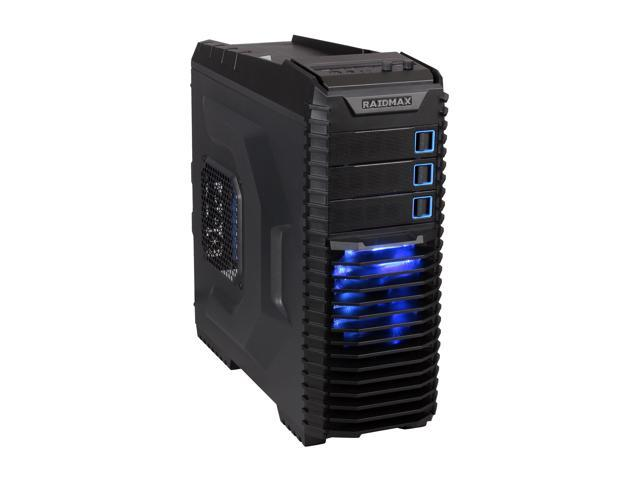 RAIDMAX Orion ATX-809B Black Steel / Plastic ATX Mid Tower Computer Case