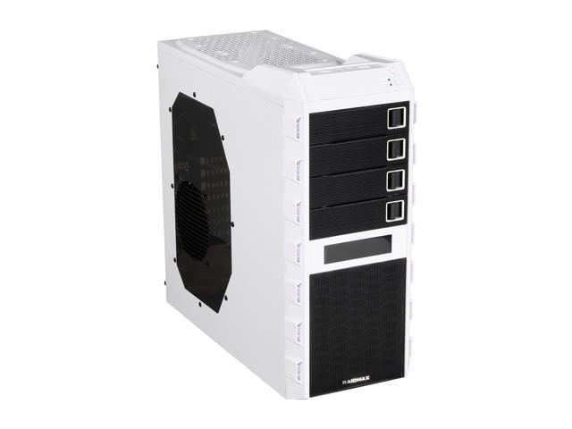 RAIDMAX Altas ATX-295WW White / Black Steel / Plastic ATX Mid Tower Computer Case