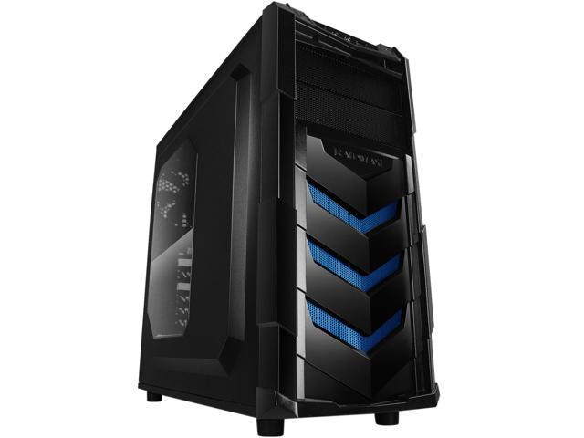 RAIDMAX ATX-404WU Black Steel / Plastic ATX Mid Tower Computer Case