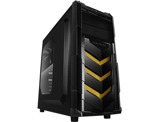 RAIDMAX Vortex V4 ATX-404WY Black Steel / Plastic ATX Mid Tower Computer Case