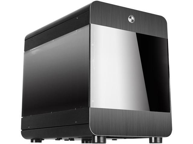 RAIDMAX Atomic ITX-107WB Black Aluminum / Plastic / Steel Mini-ITX Tower Computer Case