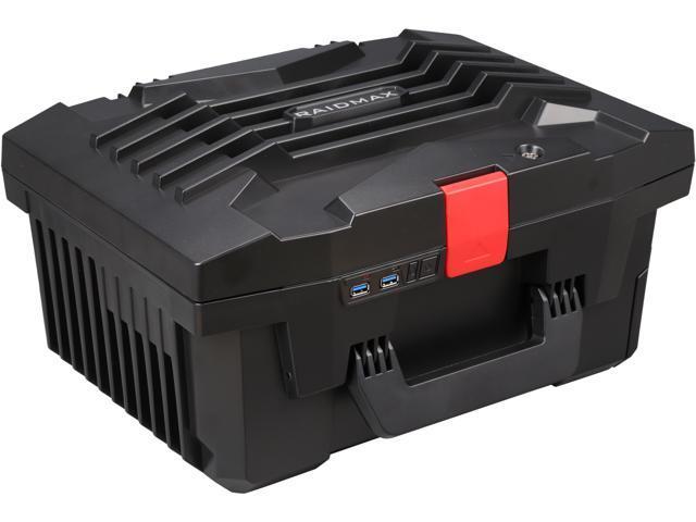 RAIDMAX Troy ITX-121B Black Steel / Plastic Mini-ITX Tower Computer Case