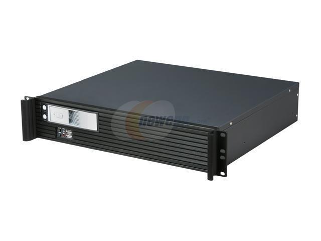 iStarUSA D213MATX-T5P Steel 2U Rackmount Value Compact Server Case
