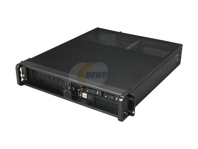 iStarUSA D200ND-B124SS 2U IPC Server Case w/SATA HS Backplane RAID Cage 1 External 5.25