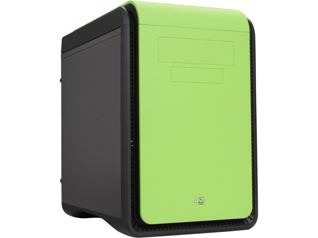 AeroCool DS-Cube Green Green 0.8mm SGCC ATX Mid Tower Computer Case