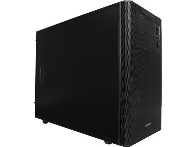 GIGABYTE GZ-ZHSMW8 Black Steel MicroATX Mini Tower Computer Case
