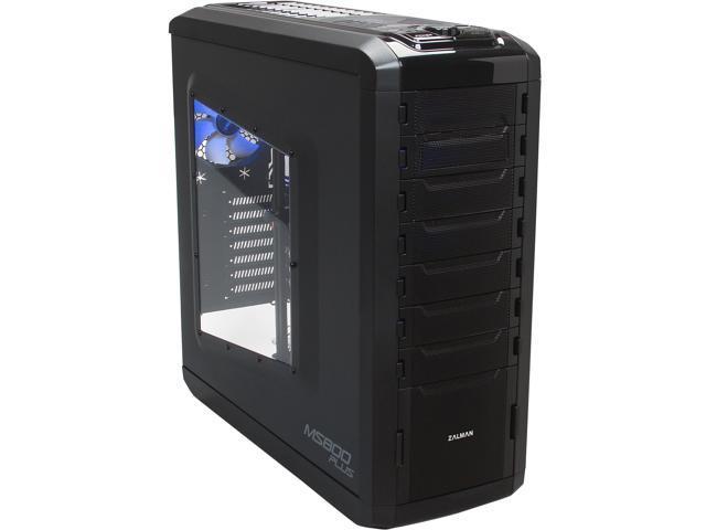 ZALMAN MS800 Plus Black Steel / Plastic ATX Mid Tower Computer Case Standard ATX / ATX12V Power Supply