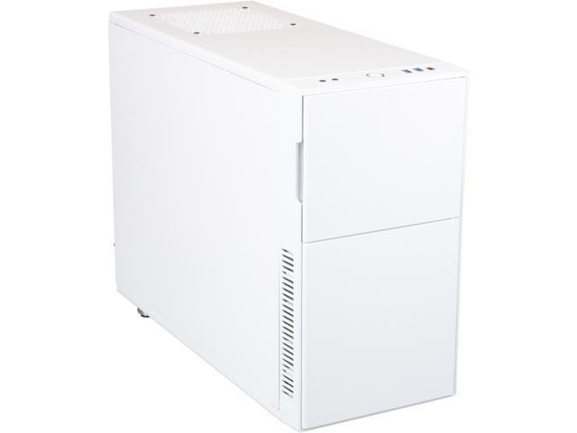 Nanoxia NXDS4W White Steel ATX Mini Tower Computer Case