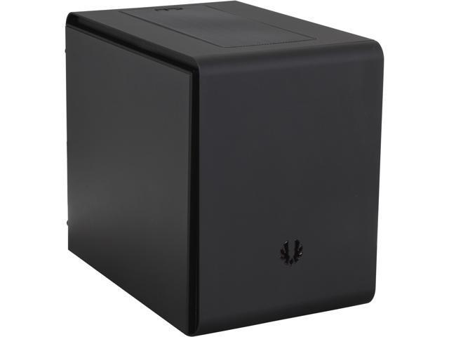 BitFenix Phenom M BFC-PHM-300-KKXKK-RP Midnight Black Steel / Plastic MicroATX Mini Tower Computer Case