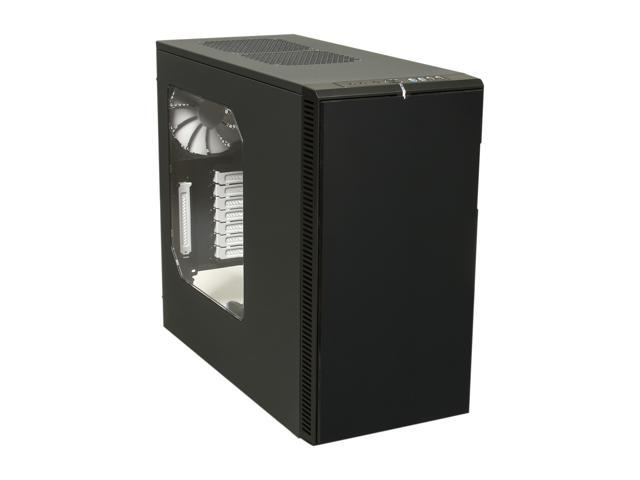 Fractal Design Define R4 with Window Black Pearl Silent ATX Mid Tower Case