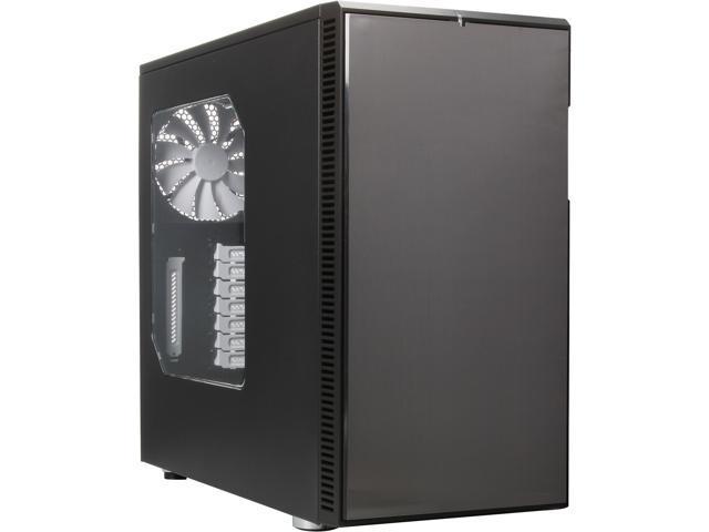 Fractal Design Define R4 with Window Titanium Grey Silent ATX Mid Tower Case