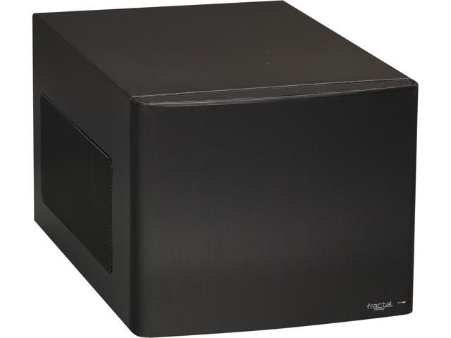 Fractal Design Node 304 FD-CA-NODE-304-BL Black Aluminum / Steel Mini-ITX Tower Computer Case