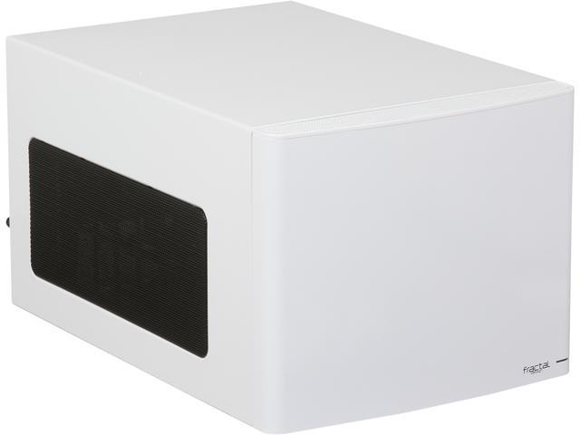 Fractal Design Node 304 FD-CA-NODE-304-WH White Aluminum / Steel Mini-ITX Desktop Computer Case