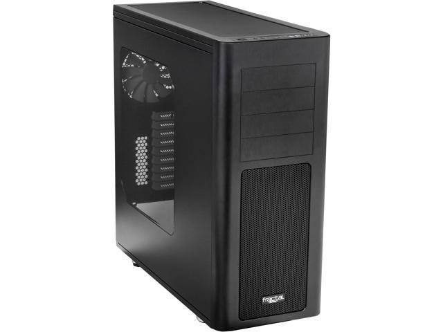 Fractal Design Arc XL (FD-CA-ARC-XL-BL-W) Black Steel ATX Full Tower Computer Case