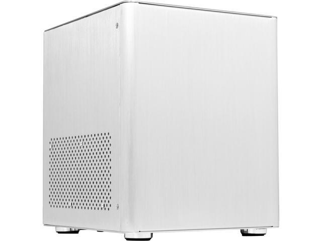 DIYPC HTPC-MiniCube-S Silver Aluminum Mini-ITX Tower Computer Case