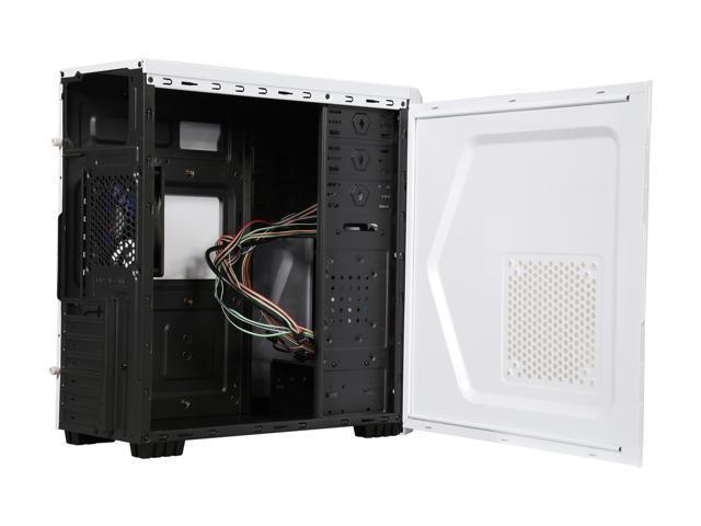 Diypc P48 W White Secc Atx Micro Atx Mid Tower Computer