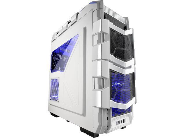 AZZA CSAZ-XT 1W White Japanese SECC Steel ATX Full Tower Computer Case
