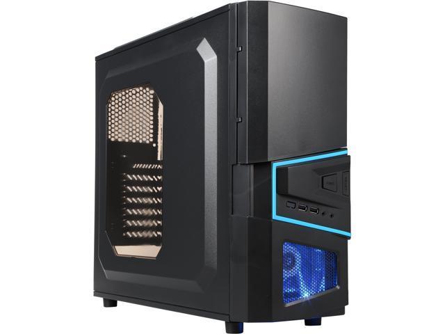 AZZA CSAZ-206S Black SECC ATX Mid Tower Computer Case
