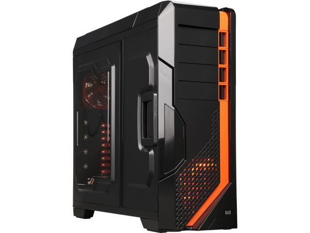 AZZA CSAZ-8000B Black SECC ATX Full Tower Computer Case