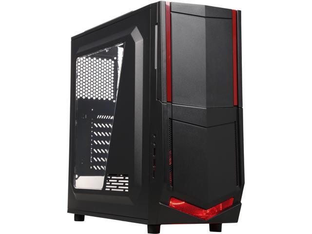 AZZA CSAZ-208S Black SECC ATX Mid Tower Computer Case (Mail In Rebate $15.0 Expires 09/30/15) (Mail In Rebate $15.00 Expires 01/01/1753)