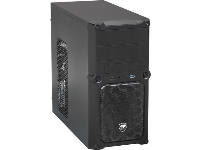 COUGAR MG100 Black Steel MicroATX Mini Tower Computer Case