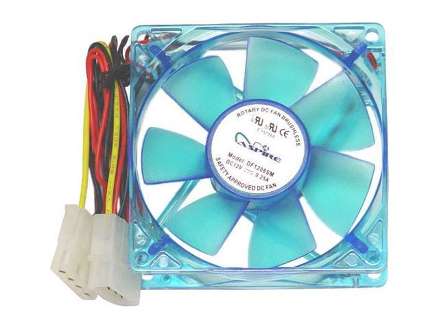 APEVIA CF4S-UBL 80mm Case Cooling Fan