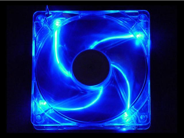 APEVIA CF12SL-UBL 120mm Blue LED Cooling Fan