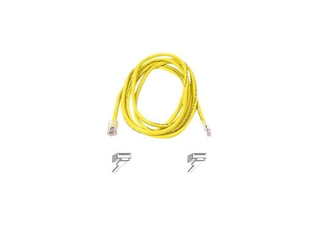 BELKIN A3L791-03-YLW 3 ft. Cat 5E Yellow Color RJ45 CAT5e Patch Cable
