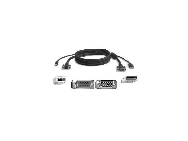BELKIN 6 ft. All-in-one KVM Cable Kit F3X1962B06