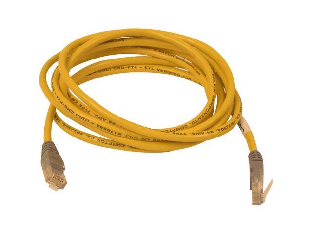BELKIN A3X126-25-YLW-M 25 ft. Cat 5E (Crossover) Yellow Color Network Cable